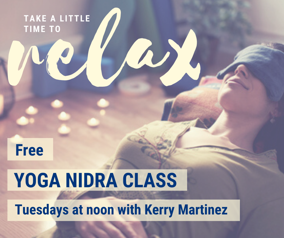 Yoga Nidra on Tuesdays on Facebook Live