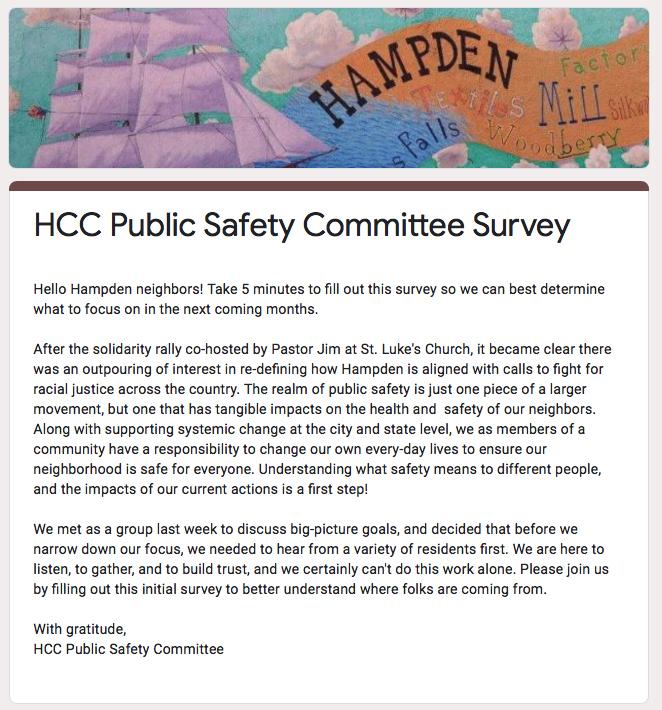 HCC Public Survey